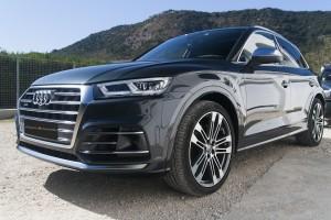 Audi SQ5 lavée avec l'Extremys