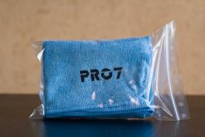 Serviette microfibres polyvalente PRO7 d'Alchimy⁷ bleue